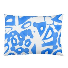 Blue summer design Pillow Case