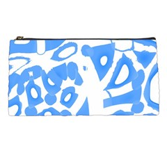 Blue summer design Pencil Cases