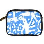 Blue summer design Digital Camera Cases Front