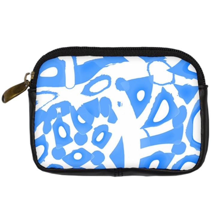 Blue summer design Digital Camera Cases