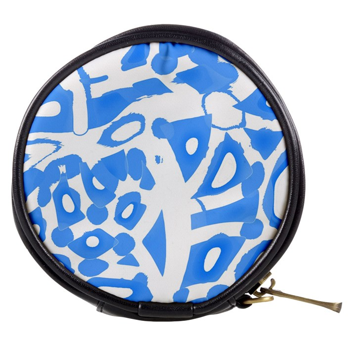 Blue summer design Mini Makeup Bags