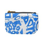 Blue summer design Mini Coin Purses Front
