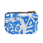 Blue summer design Mini Coin Purses Back