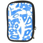 Blue summer design Compact Camera Cases Front