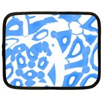 Blue summer design Netbook Case (XXL)  Front