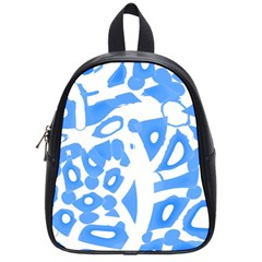 Blue Summer Design School Bags (small)
