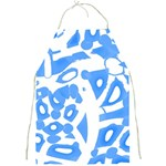 Blue summer design Full Print Aprons Front