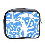 Blue summer design Mini Toiletries Bag 2-Side Back
