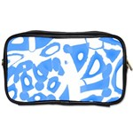 Blue summer design Toiletries Bags 2-Side Front