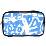Blue summer design Toiletries Bags 2-Side Back