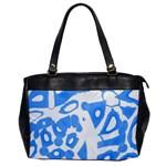 Blue summer design Office Handbags Front