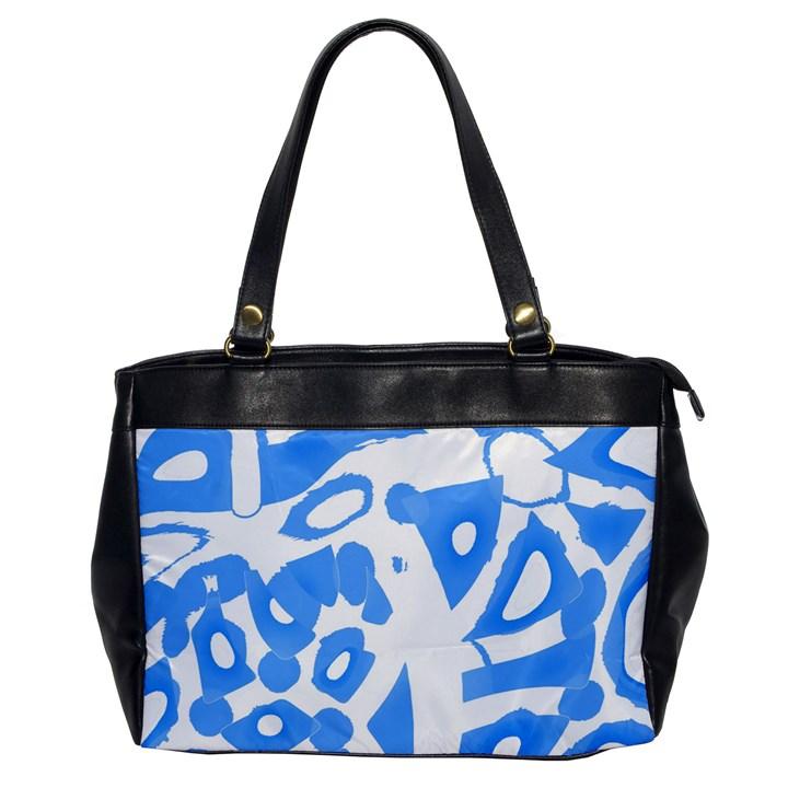 Blue summer design Office Handbags