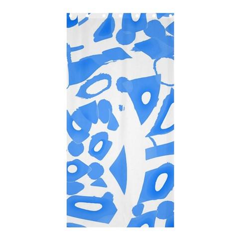 Blue summer design Shower Curtain 36  x 72  (Stall)