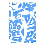 Blue summer design Shower Curtain 48  x 72  (Small)  42.18 x64.8 Curtain