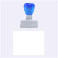 Blue summer design Rubber Oval Stamps
