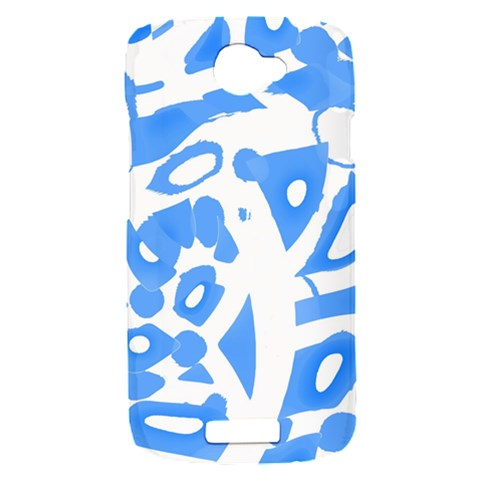 Blue summer design HTC One S Hardshell Case