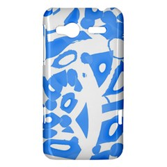 Blue summer design HTC Radar Hardshell Case