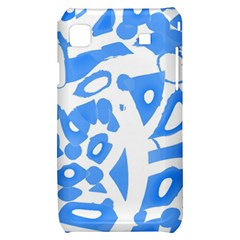 Blue summer design Samsung Galaxy S i9000 Hardshell Case