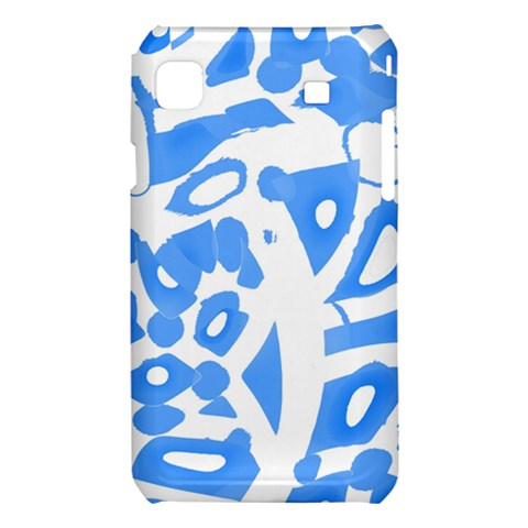Blue summer design Samsung Galaxy S i9008 Hardshell Case