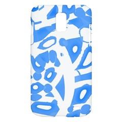 Blue summer design Samsung Galaxy S II Skyrocket Hardshell Case