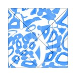 Blue summer design Acrylic Tangram Puzzle (6  x 6 ) Front