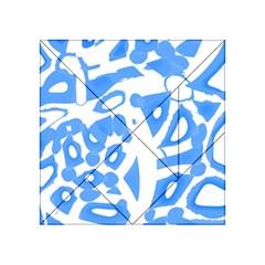Blue summer design Acrylic Tangram Puzzle (4  x 4 )