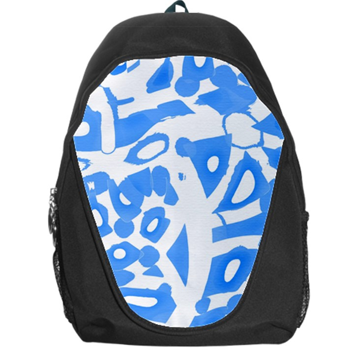 Blue summer design Backpack Bag