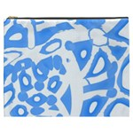 Blue summer design Cosmetic Bag (XXXL)  Front
