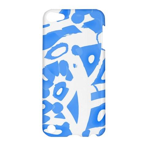Blue summer design Apple iPod Touch 5 Hardshell Case