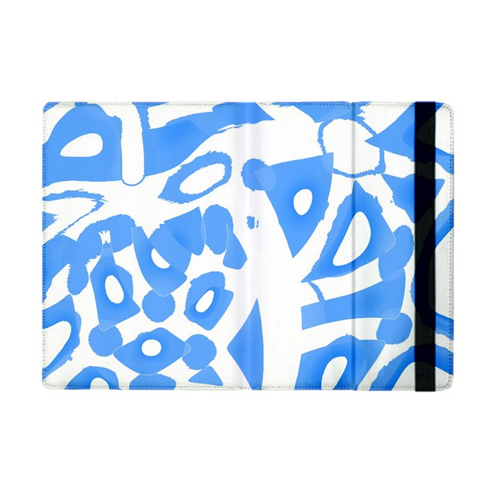 Blue summer design Apple iPad Mini Flip Case