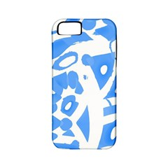 Blue summer design Apple iPhone 5 Classic Hardshell Case (PC+Silicone)