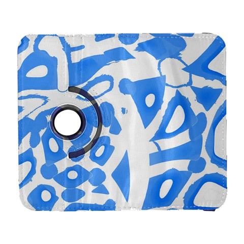 Blue summer design Samsung Galaxy S  III Flip 360 Case