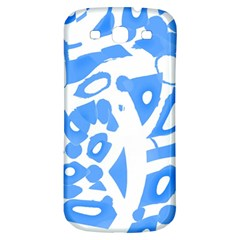Blue summer design Samsung Galaxy S3 S III Classic Hardshell Back Case