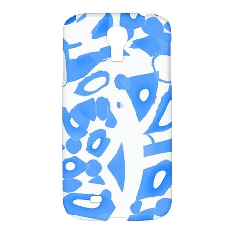 Blue summer design Samsung Galaxy S4 I9500/I9505 Hardshell Case