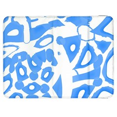 Blue Summer Design Samsung Galaxy Tab 7  P1000 Flip Case