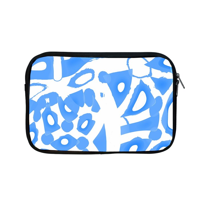 Blue summer design Apple iPad Mini Zipper Cases