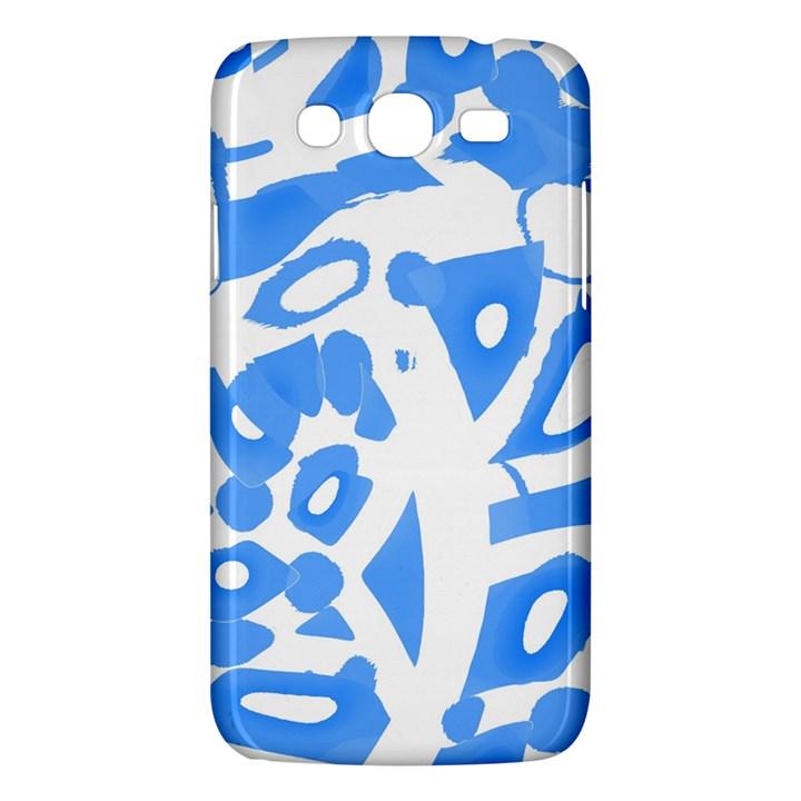Blue summer design Samsung Galaxy Mega 5.8 I9152 Hardshell Case
