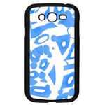 Blue summer design Samsung Galaxy Grand DUOS I9082 Case (Black) Front