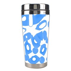 Blue Summer Design Stainless Steel Travel Tumblers