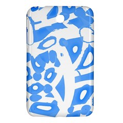 Blue summer design Samsung Galaxy Tab 3 (7 ) P3200 Hardshell Case