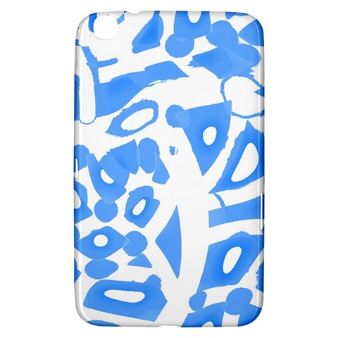 Blue summer design Samsung Galaxy Tab 3 (8 ) T3100 Hardshell Case