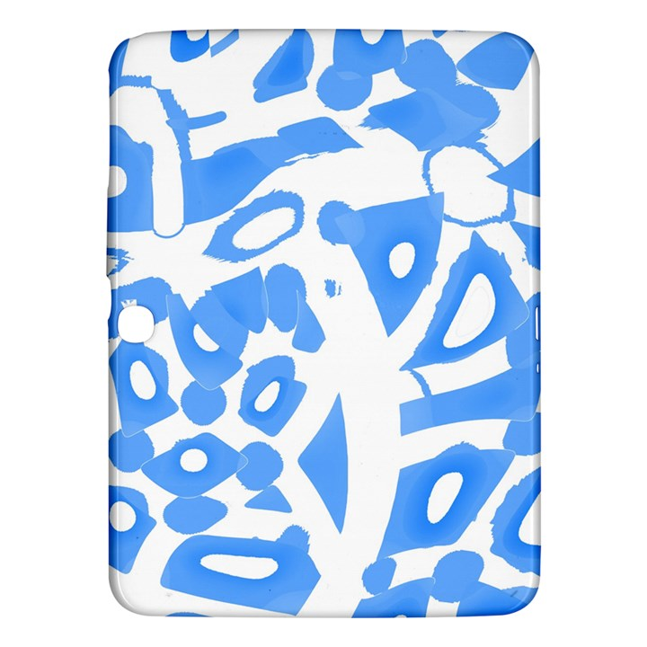 Blue summer design Samsung Galaxy Tab 3 (10.1 ) P5200 Hardshell Case