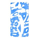 Blue summer design Samsung Galaxy Note 3 N9005 Hardshell Back Case Front
