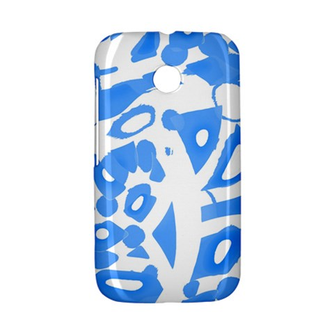Blue summer design Motorola Moto E
