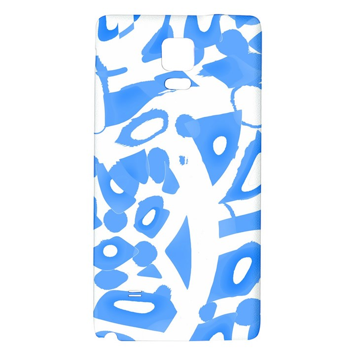 Blue summer design Galaxy Note 4 Back Case