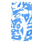 Blue summer design Samsung Galaxy Mega I9200 Hardshell Back Case Front