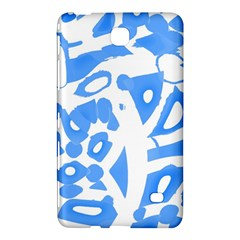 Blue summer design Samsung Galaxy Tab 4 (8 ) Hardshell Case