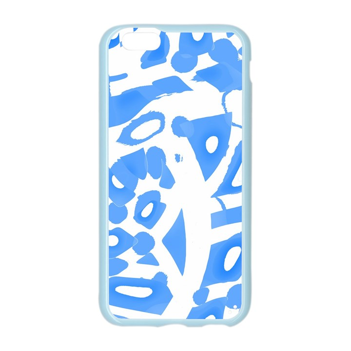 Blue summer design Apple Seamless iPhone 6/6S Case (Color)