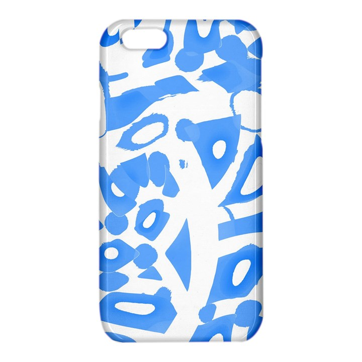 Blue summer design iPhone 6/6S TPU Case