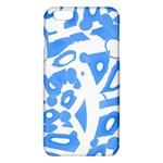 Blue summer design iPhone 6 Plus/6S Plus TPU Case Front
